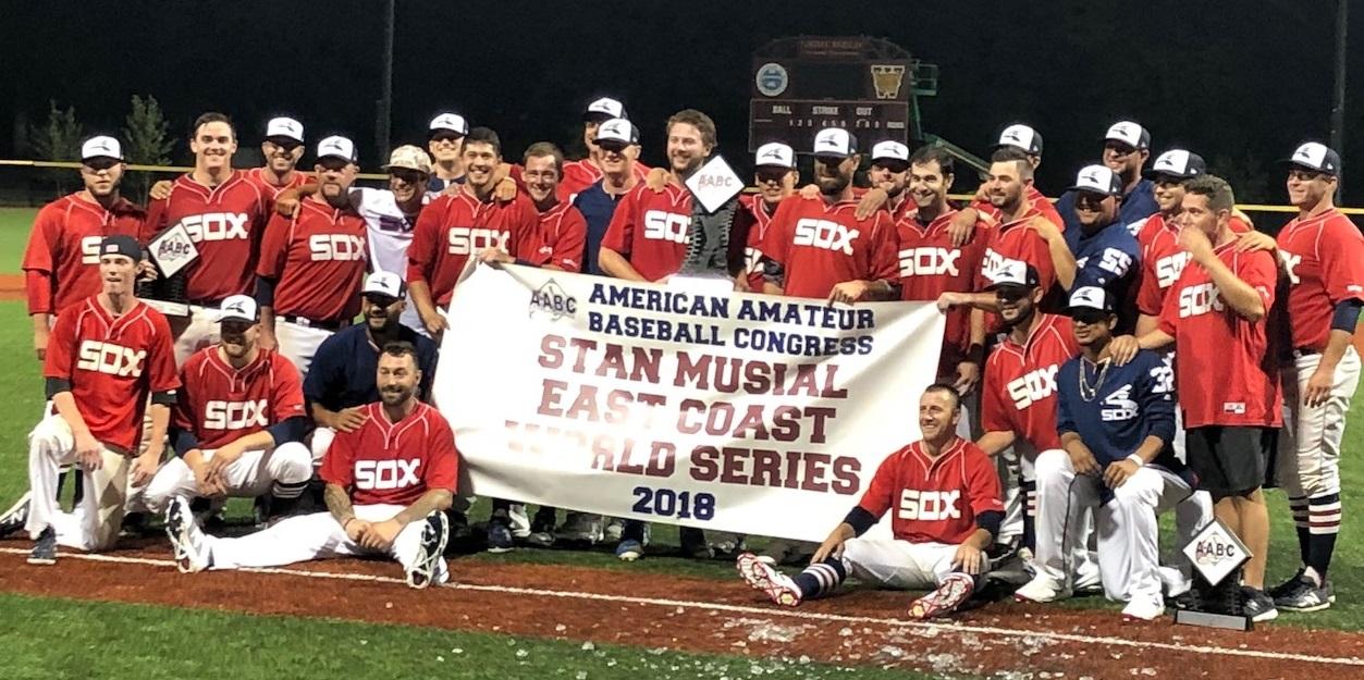 Braintree White Sox win 2018 SMWS